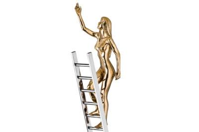 Reach Masculina, Bronze - Sculptures - Lorenzo Quinn
