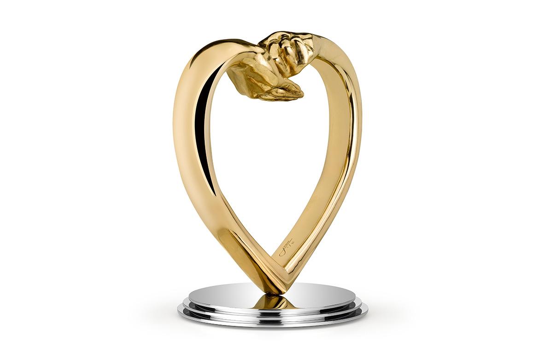 Dando y Recibiendo Amor, Bronce - Esculturas - Lorenzo Quinn