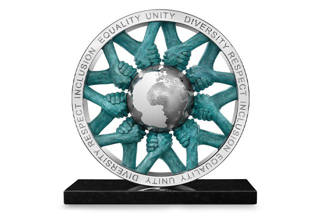 Unity - Patinated bronze - Sculptures - Lorenzo Quinn