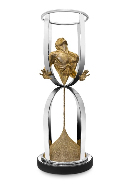 El Tiempo Vuela, Bronce - Esculturas - Lorenzo Quinn