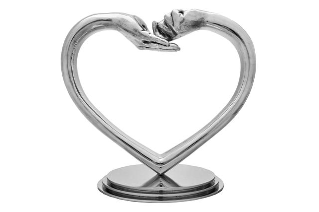 Giving and Receiving Love, Aluminium - Sculptures - Lorenzo Quinn