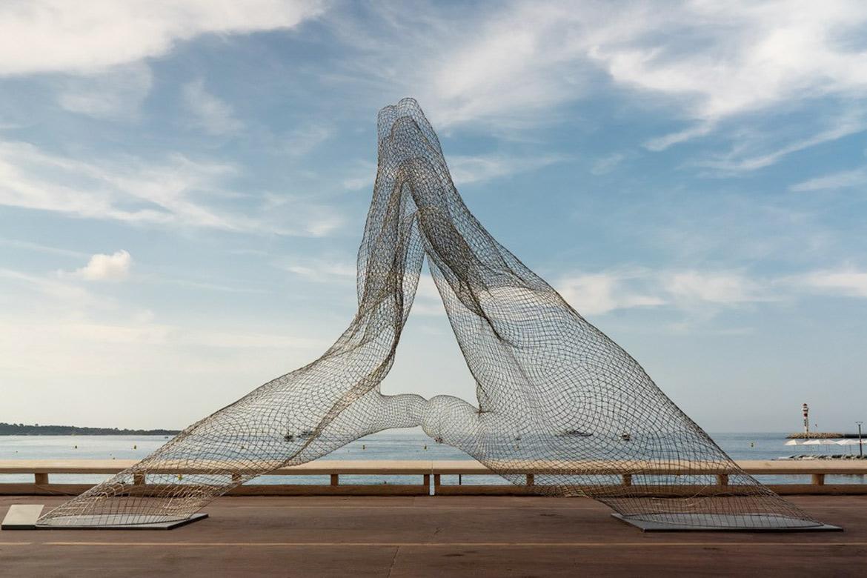 Juntos - Cannes, Francia - Julio a Agosto 2021 - Eventos y Exhibiciones - Lorenzo Quinn